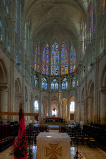 Chartres - Saint-Pere Church - The Altar & Choir