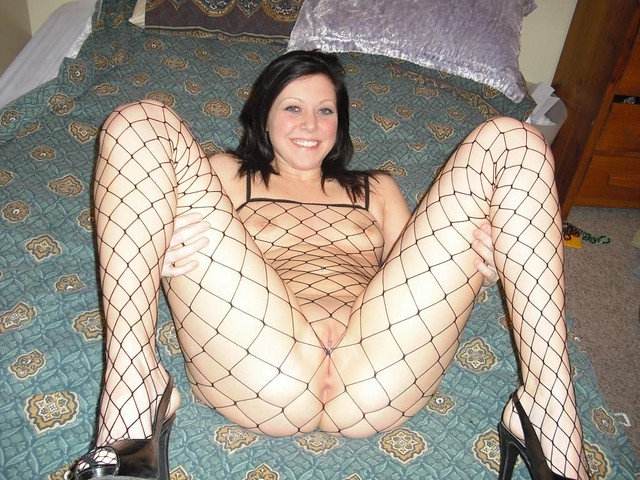 Amy.Milne - Fishnet Bodystocking
