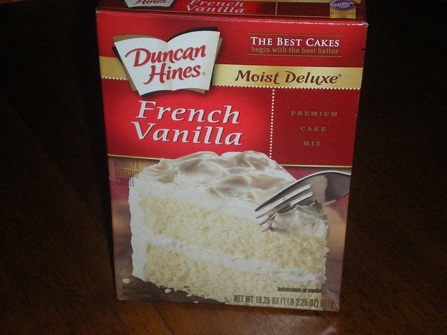 Boxed Mix Cake Makes Me Nauseated