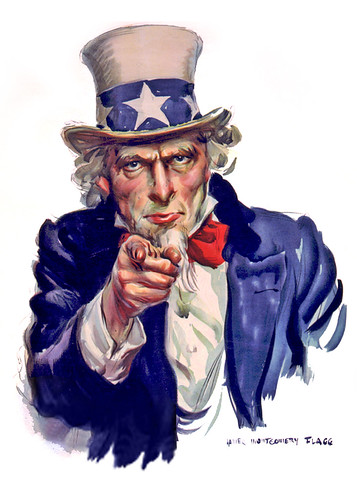 Uncle Sam I Want You - Poster Illustration