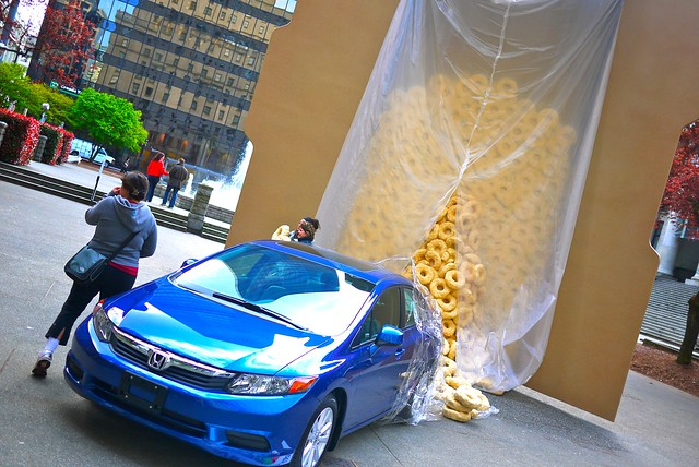 2012 Honda Civic Cereal Launch | Vancouver Art Gallery