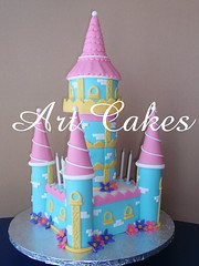 The Castle Cake - Back