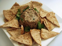 mushroom and walnut spread