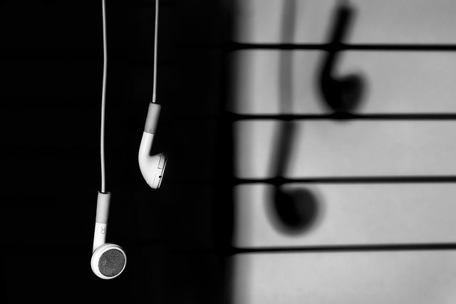 Black And White Music