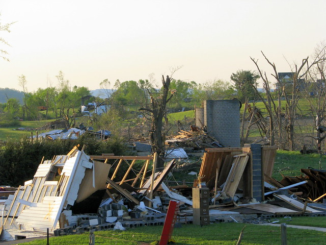 Glade Spring (VA) United States  city pictures gallery : 27 Tornado Damage Glade Spring, VA | From the huge torna ...
