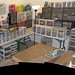 New LEGO room panorama by Pepa Quin