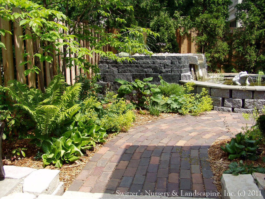 Balinese inspired landscape design water garden feature for Balinese garden design