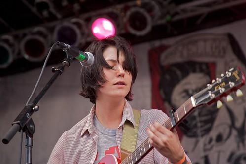 Sharon Van Etten at Northside Festival, 2011