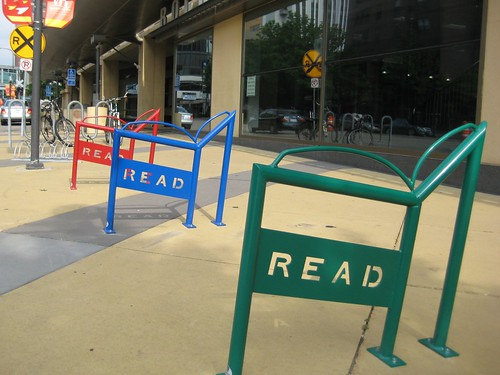 READ Bike Racks in Rochester