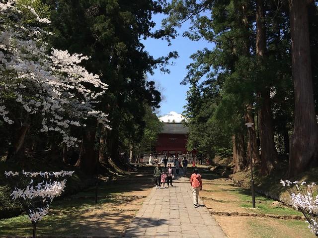 岩木山神社の境内