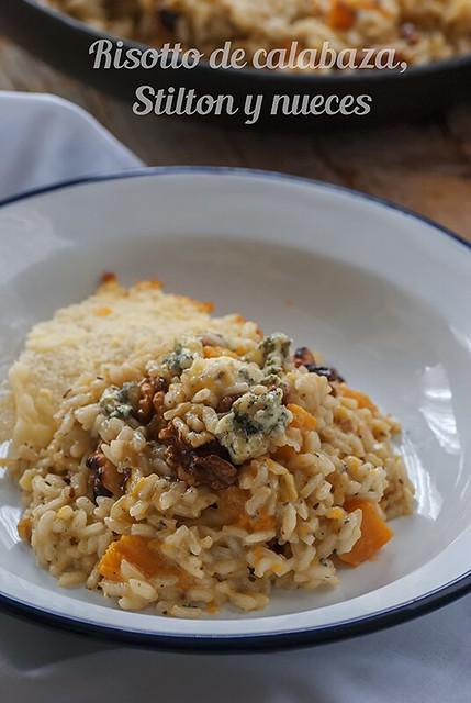 Risotto calabaza_Stilton_nueces
