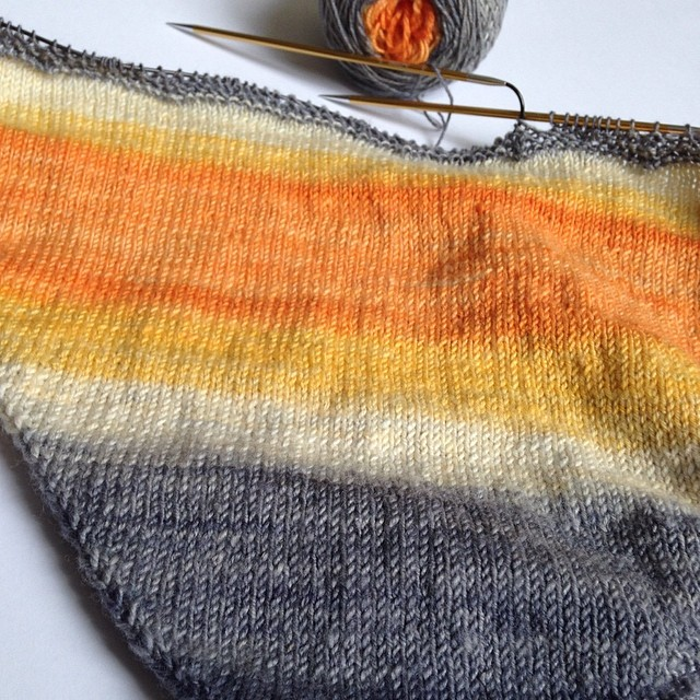 My shawl progress