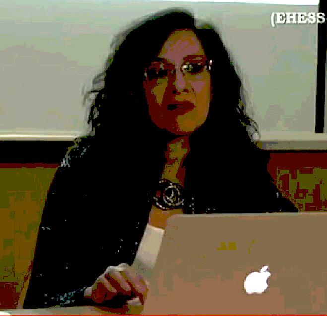 En la conferencia de Andrea Giunta 2