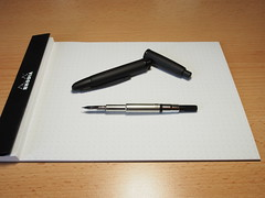 Pilot Capless Fountain Pen Matt Black - Nib Unit