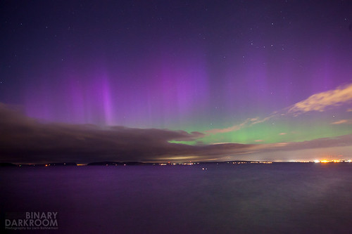 Northern Lights over Mukilteo