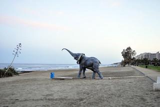 Ducha elefante de la playa Marina D'or, ciudad de vacaciones para niños y adultos - 14190382925 e8151bd660 n - Marina D'or, ciudad de vacaciones para niños y adultos