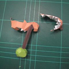 วิธีทำโมเดลกระดาษคุกกี้รสคุกกี้แอนด์ครีม  (Cookie Run Cream Cookie Papercraft Model) 018