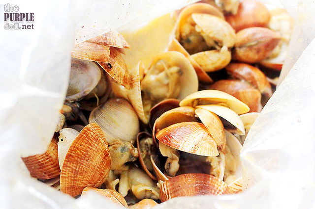 Lemon Pepper Clams (P295 per 500g)