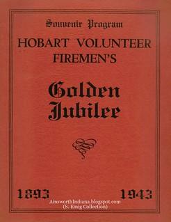 Centennial Souvenir 1943 HFD face page