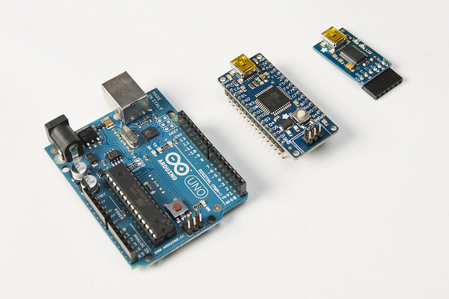 Arduino uno atmega u breakout board ftdi friend