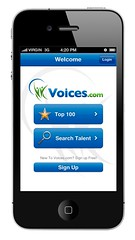 Voices.com Welcome