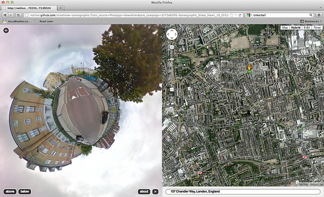 Stereographic google