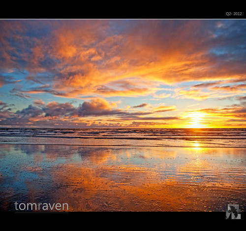 The Beach As A Mirror by TomRaven