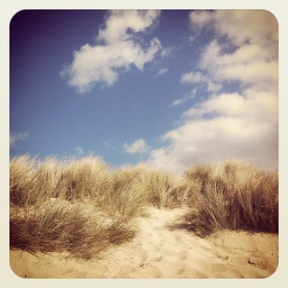 Dunes at Mawgan Porth - is it summer?!