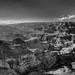 Grand Canyon Black and White Panorama HDR