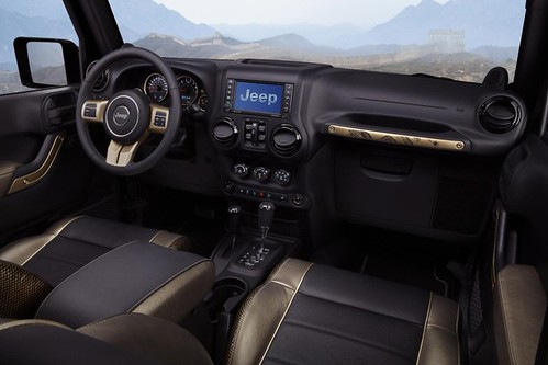Luxury Toybox: Jeep Wrangler Dragon Roars at 2012 Beijing Auto Show