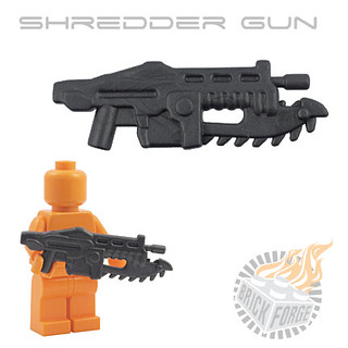 Shredder Gun - Carbon