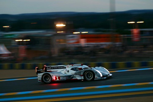 ルマン予選『Photo:Audi Sport』