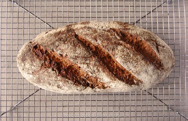 Pan de centeno multicereales