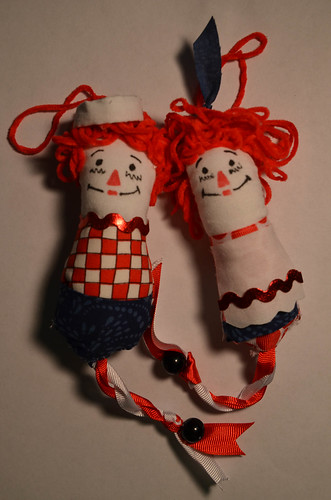 Raggedy Ann and Andy Dotee by SlayKat Art's PaperclipHashbrown