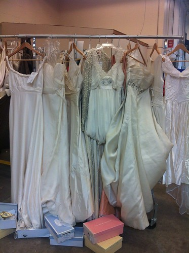 Brides on a budget the swapaholics for Donate wedding dress goodwill