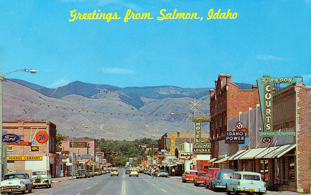 Salmon, Idaho U.S.A. - 1950s