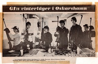 Air rifle range in Oskarshamn