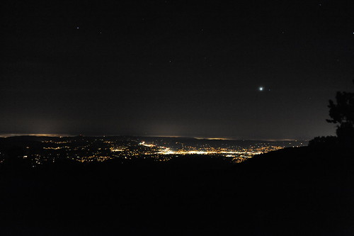 Mt.Diabloからの夜景