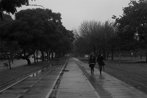 Cold Rainy Autumn Buenos Aires by Bader Awwad