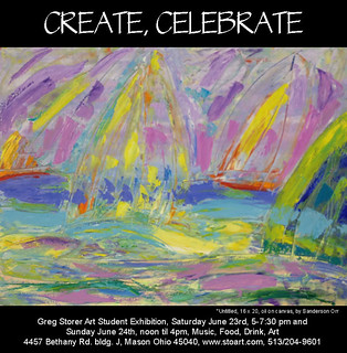 Create, Celebrate exhibit