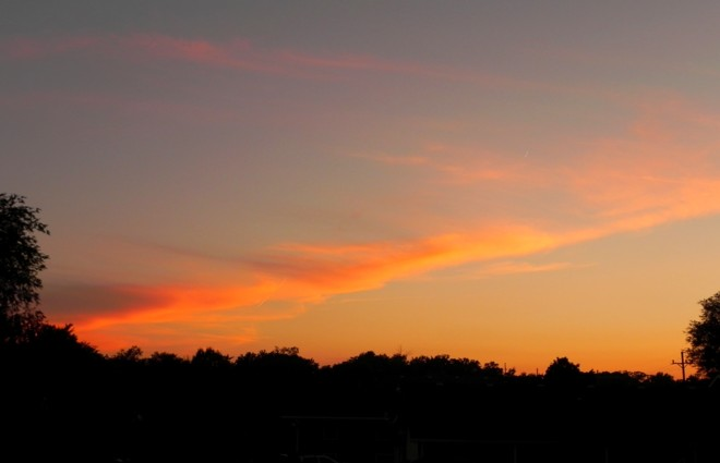 06-21-2012_Orange Ozarks Sunset