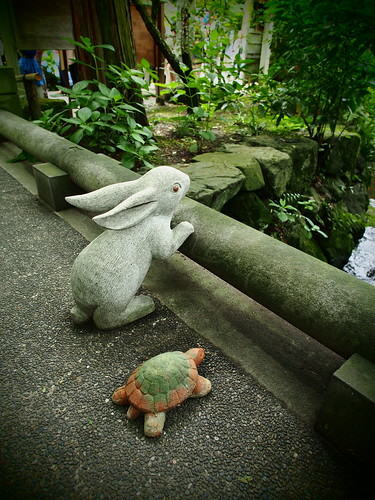 明月院 兎と亀