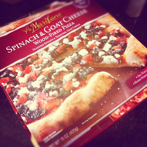 Trying a new boxed pizza