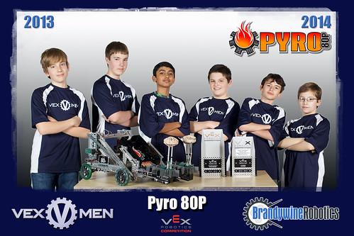 80P Pyro