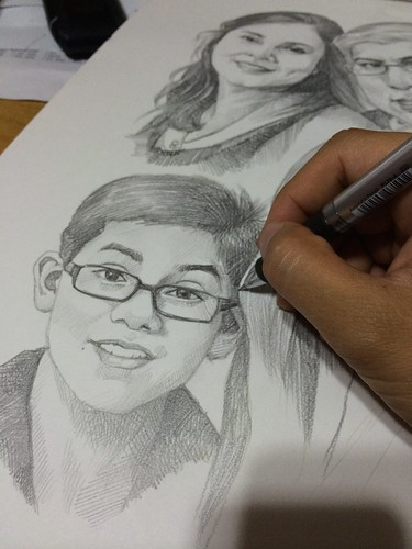 family portraits in pencil 20052014