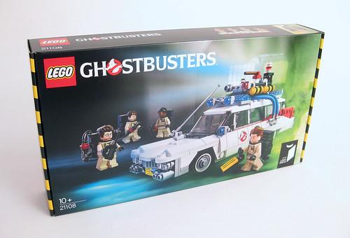 Lego coche de los cazafantasmas 21108