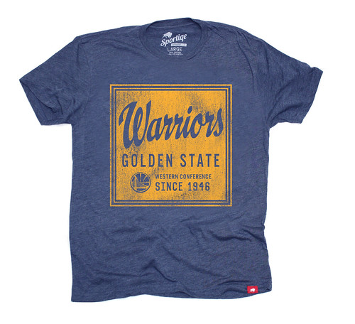 Golden State Warriors Graphic T Shirt - Sportiqe Apparel