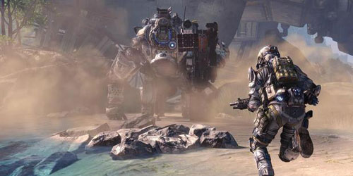 Titanfall companion app available on mobile devices