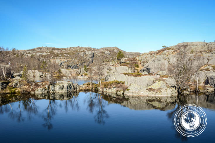 Hiking Pulpit Rock—An Unforgettable Journey to one of Norway's Best Views - Reflection Pool at Pulpit Rock