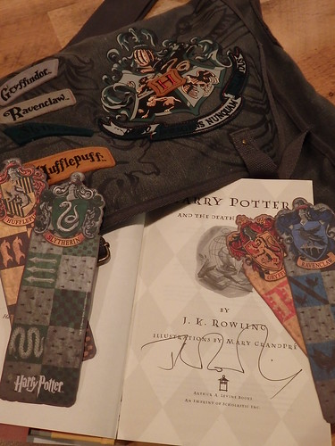 My Autographed Copy of Harry Potter and the Deathly Hallows